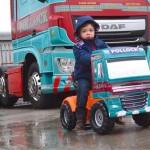 DAF XF dla najmłodszych – trakerska zabawka w barwach firmy Pollock