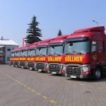 Polskie ciężarówki dominują w tym roku na niemieckich drogach, czyli raport BAG z ostatnich 9 miesięcy