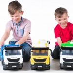 Polski student zaprojektował gamę zabawek Iveco Trakker, czyli prezenty dla taty i syna od firmy TOMY