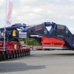 Największa w Europie naczepa do podwieszanych gabarytów, czyli 550-tonowa konstrukcja dla firmy Collett