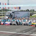 Estończyk wygrał środkowoeuropejski finał The Drivers' Fuel Challenge 2014, czyli jeżdżący na kropelce Aare