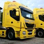 Iveco Stralis Hi-Way z firmy Vario Transport po dwóch miesiącach, czyli ładne i bardzo mocne w górach