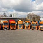 Pierwszy rok testu ciężarówek Euro 6 w Fehrenkötter  – MB Actros, Volvo FH są jak na razie najtańsze