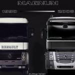 Historia Renault AE i Renault Magnum, samochodu stworzonego z myślą o długich trasach jak żaden inny