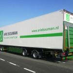 Volvo FMX do transportu tymczasowych dróg oraz naczepa Elcar do bezpiecznego przewozu kwiatów