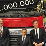 Milionowy DAF wyprodukowany w Eindhoven trafił do węgierskiej firmy transportowej Révész Group