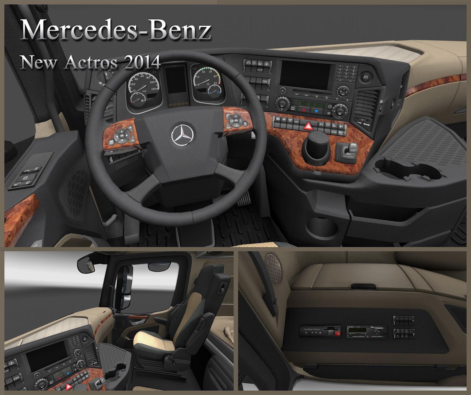 Mercedes Benz Actros Mp4 Do Euro Truck Simulator 2 Jest