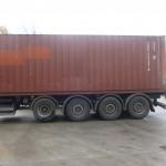Czteroosiowa naczepa także i w Polsce – sposób na poprawę nacisków na oś w transporcie kontenerów