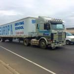 Scania 113 360 w USA jako ciężarówka do nauki jazdy – czy to pamiątka po oficjalnym eksporcie?