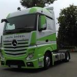 Mercedes-Benz Actros 1845 StreamSpace – zapowiedź testu i pierwsze wyniki zużycia paliwa