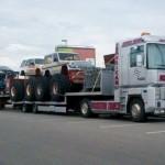 Kilka Waszych zdjęć – parki rozrywki z zabytkami, transport Monster Trucków i nietypowe Iveco Eurocargo