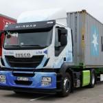 Testowe Iveco Stralis Natural Power na LNG oraz CNG przekazane polskim podwykonawcom firmy IKEA