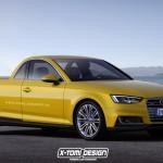 Szosowy, luksusowy pickup na bazie Audi A4? To tylko projekt, który naprawdę może się podobać