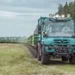 Rolniczy Unimog zostanie zaprezentowany także polskim klientom, na wystawie Agro Show