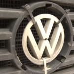 Działanie mobilnej stacji kontroli pojazdów na filmie ze smutnym Volkswagenem LT w roli głównej