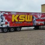 """""""Pudzian"""" przygotował samochód ciężarowy, który ma promować gale KSW oraz ich zawodników"""