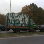 Pamiętacie zielone Renault Messenger do transportu drewna, które raz za razem przeładowywano o 6 ton?