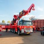 Volvo FM z 365-tonometrowym dźwigiem tureckiej produkcji, czyli co można zrobić z ciężarówką typu 10×4