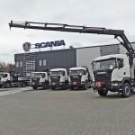Scania w aż sześciu egzemplarzach dla Grupy Kapitałowej PGE, czyli nowoczesny sprzęt energetyczny