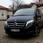 Mercedes-Benz V250 – test 40ton.net – szczytowe osiągnięcie w zakresie projektowania aut użytkowych