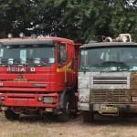Jakie samochody ciężarowe jeżdżą w Gambii, czyli Berliety i Bedfordy obok Pegaso Tronerów i Premiumek