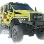 Ural Next w sportowej wersji pojedzie na rajd Dakar 2017, mając pod maską rosyjskiego diesla marki YaMZ