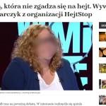 """Członkini """"HejtStop"""" udziela wywiadu o """"złodziejach z Calais"""", a sprawa Pudzianowskiego trafia na Wyspy"""