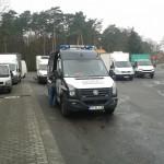 WITD Poznań zorganizowało akcję ważenia aut dostawczych i naturalnie każdy z nich był przeładowany