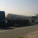 ITD zawróciło czeską ciężarówkę do kraju jej pochodzenia, jako że nie spełniała ona przepisów ADR