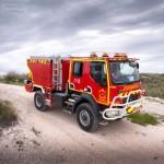 Aż 22 nowe wozy strażackie dla ratowników z Madrytu, mające pracować w trudno dostępnym terenie