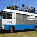 Odnowiony wóz transmisyjny marki Mielec, czyli jeżdżąca pamiątka po początkach kolorowej telewizji
