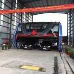 Czy w miastach będą pracowały autobusy i ciężarówki jeżdżące nad korkami, biorąc je między koła?