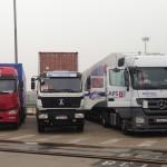 Dziewięć ciężarówek w 5 dni pokonało trasę z Chin do Rosji, zapowiadając nowe, ogromne możliwości