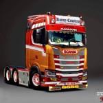 Nowa Scania serii S oraz R po wirtualnym tuningu – jak nowy model będzie wyglądał w Danii i Holandii?