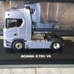 Oto nowa Scania serii S, a właściwie jej miniaturka, która w pełni pokazuje nam wygląd nowego modelu