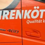 Po 2,5 roku codziennej pracy, Volvo FH 460 Euro 6 wygrało wielkie porównanie firmy Fehrenkötter