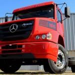 Mercedes żegna się z szosowymi ciężarówkami z silnikiem przed kabiną – z Brazylii znika model Atron