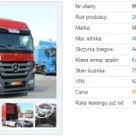 Ile zapłacę za używaną ciężarówkę, czyli z wirtualną wizytą w komisie z samochodami ciężarowymi – vol. 16