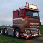 DAF XF Comfort Cab z firmy Ceusters Transport – zupełnie nowa ciężarówka mająca przypominać lata 70-te