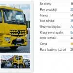 Ile zapłacę za używaną ciężarówkę, czyli z wirtualną wizytą w komisie z samochodami ciężarowymi – vol. 17