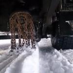 Automatyczne łańcuchy, na krążkach obracających się przy kole – sposób na wygodę zimą – AKTUALIZACJA