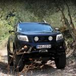 Tuning nowego Nissana NP300 Navara w wykonaniu niemieckiego specjalisty od podnoszenia pickupów