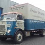 DAF A1600 z 1965 roku, ciągle u pierwszego właściciela – wygląda pięknie, a od remontu minęło 30 lat