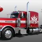 Wyjątkowa ciężarówka na 150-lecie istnienia kraju – oto limitowany Peterbilt 389 w wersji Canada 150
