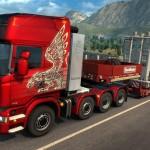 Naczepy ponadgabarytowe do Euro Truck Simulator 2 są gotowe – dodatek kosztuje około 20 złotych