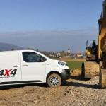 Citroen Jumpy oraz Peugeot Expert w nowej wersji 4×4 – koszt tego układu to dodatkowe 6,7 tys. euro