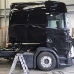 Scania Longline nowej generacji nabiera kształtu – firma budująca ten pojazd pochwaliła się zdjęciem