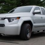 Elektryczny pickup o mocy 460 KM, który od przyszłego roku zawalczy o wymagający, amerykański rynek