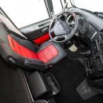Iveco Stralis XP 570 w specjalnej wersji Abarth, czyli ciągnik siodłowy mocno nawiązujący do sportu