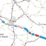 240 mandatów za wyprzedzanie ciężarówkami na autostradzie A4 – statystyki z ostatniego miesiąca